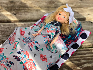 Adorable Hand Sewn DIY Doll Bed Activity