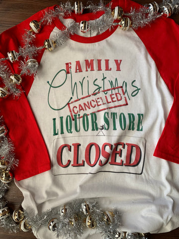 Family Christmas Cancelled T-Shirt