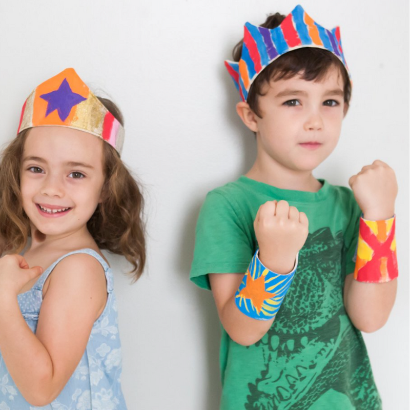 Paint Your Own Kit: Super Hero Cuffs - Gifted and Present