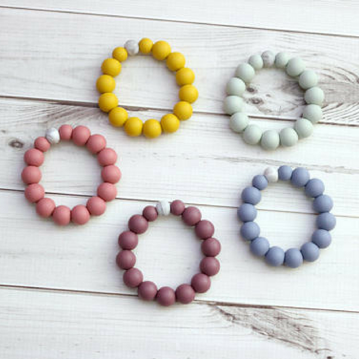 Silicone Teething Ring - Gifted and Present