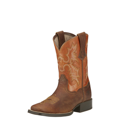 Ariat Youth Tombstone Boot - Brown