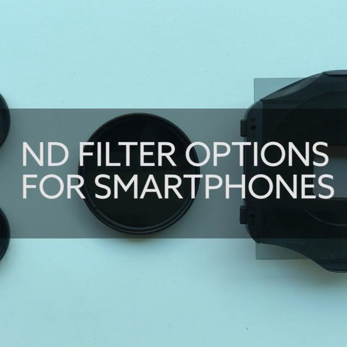 ND Filters on iPhone and other smartphones