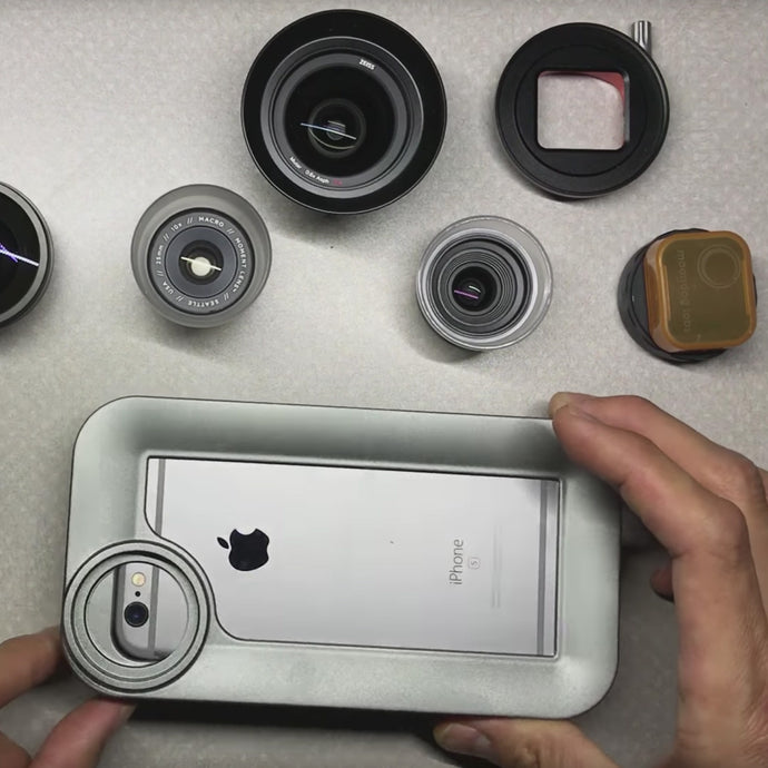 iPhone lens recommendations for filmmaking and photography