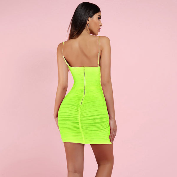 HANG TIGHT MINI DRESS - Revossa