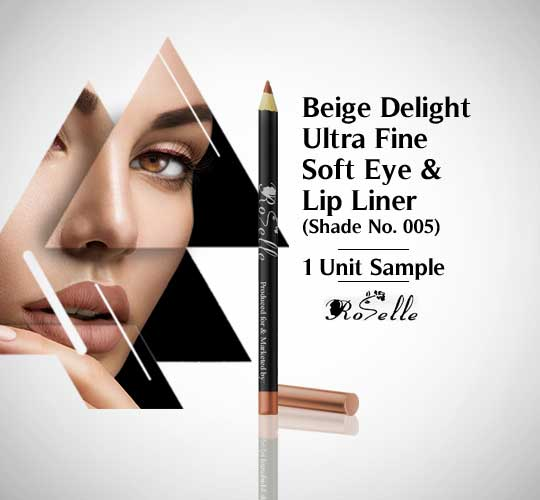 Ultra Fone Soft Eye & Lip Liner With Vitamin E Color No.-005