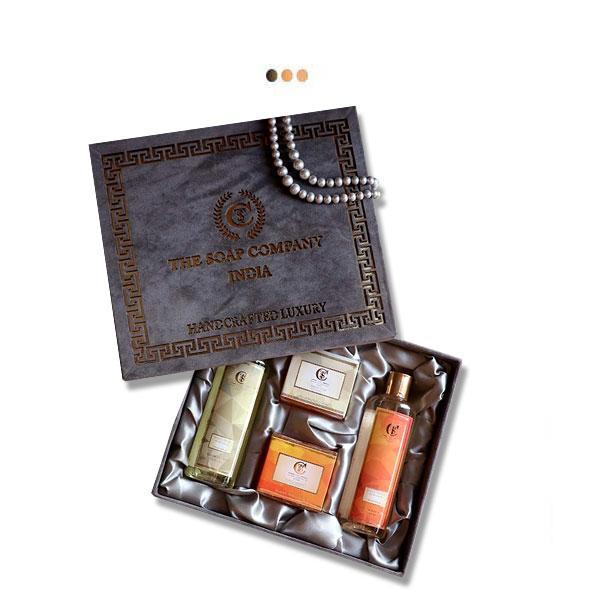 Luxury Gift Box - White Musk & Tangy Orange