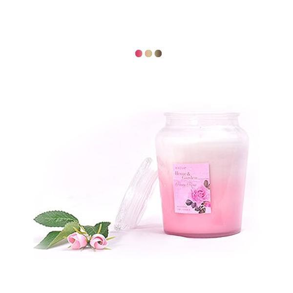 Candles - Peony Rose Scented Gradient Jar Candle
