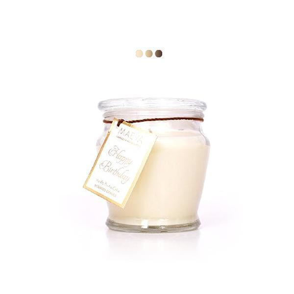 Candles - Vanilla 12 OZ Jar Scented Candle