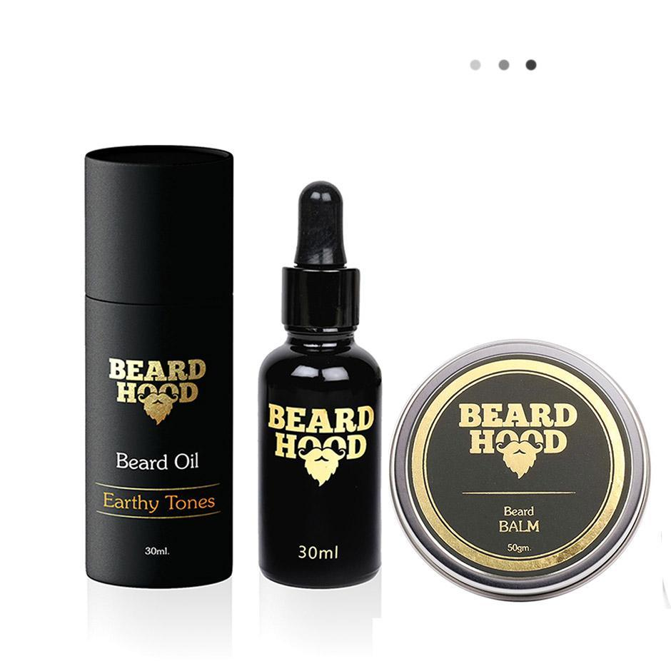 Essentials For Gentlemen - Earthy Tones Beard Oil+Beard Balm