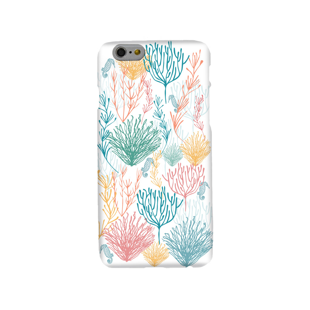 Seahorses & Coral Mobile Phone Case