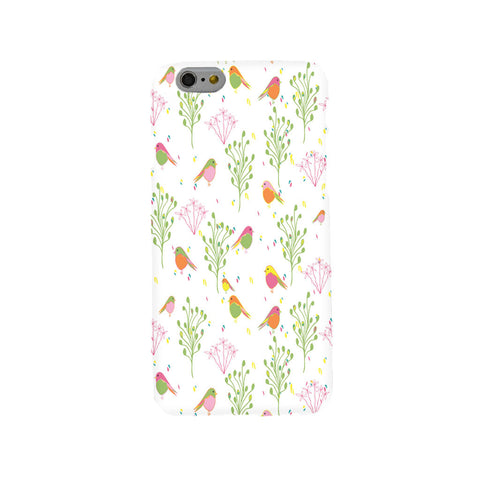 Spring Robins Mobile Phone Case