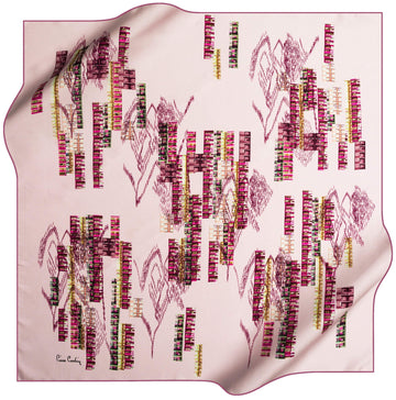 Pierre Cardin Rasha Luxury Silk Scarf No. 91 Pierre Cardin,Silk Scarves Pierre Cardin