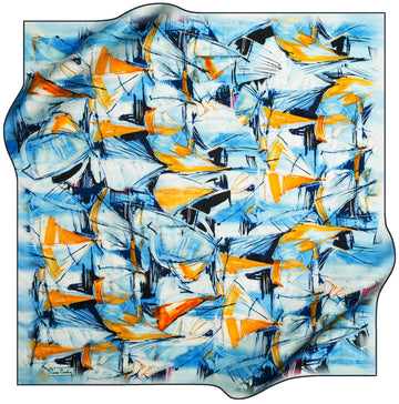 Pierre Cardin Luxury Foulard Weekender No. 21 Pierre Cardin,Silk Scarves Pierre Cardin