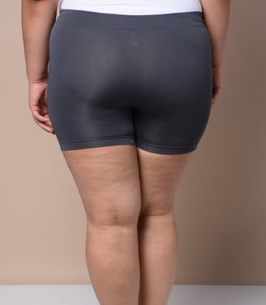 Plus Size Shapewear Shorts - Grey