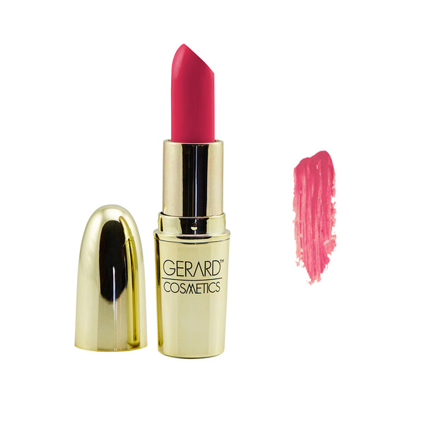 Kiss and Tell - Satin Lipstick Gerard Cosmetics - Let it Be Beauty - Your Online Beauty Store