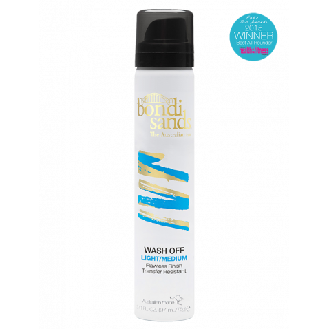 Wash Off - Instant Tan - Light/Medium Bondi Sands - Let it Be Beauty FREE Shipping on all orders