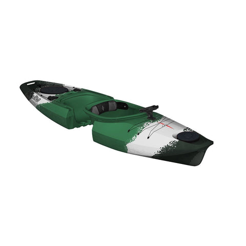 Point 65 Martini GTX Angler Solo Kayak - Green Cammo - Kayak Creek