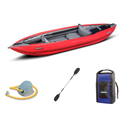 Innova Safari 330 Inflatable Kayak Bundle | Paddle & Pump - Kayak Creek