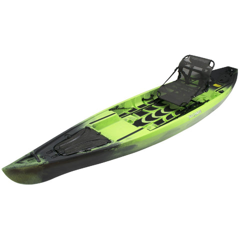 NuCanoe Pursuit 13.5' Fishing Kayak | NUclear Green Camo - Kayak Creek