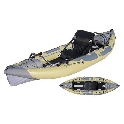 Advanced Elements StraightEdge Angler Pro Inflatable Kayak - Kayak Creek