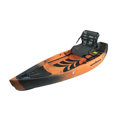 NuCanoe Frontier 10 F10 Fishing Kayak  | Hazard Camo - Kayak Creek