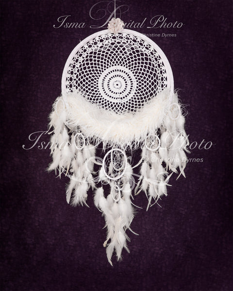 Dreamcatcher - Digital backdrop /background - psd with layers