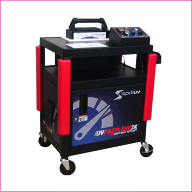 automotive collision repair UV light carts