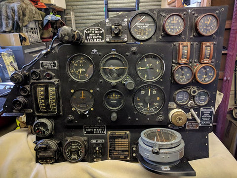 Avro Anson Instrument Panel DJ459