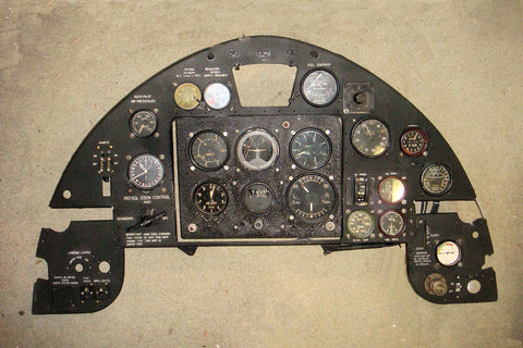 Fairey Battle Instrument Panel