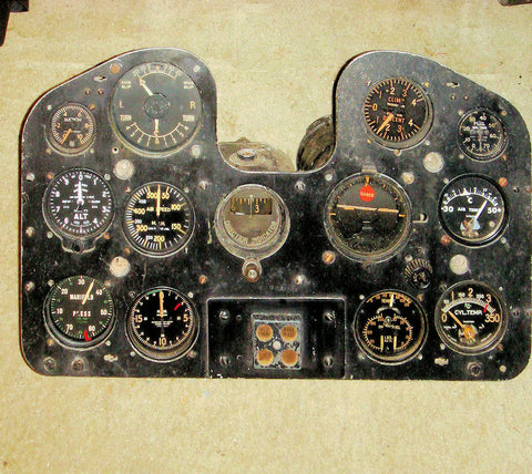 CAC Boomerang Instrument Panel. A46-115