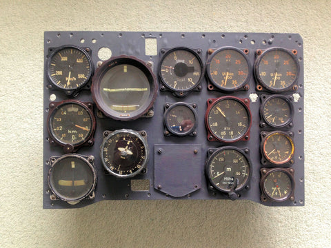 Heinkel He 219A-0 Uhu Night Fighter Instrument Panel
