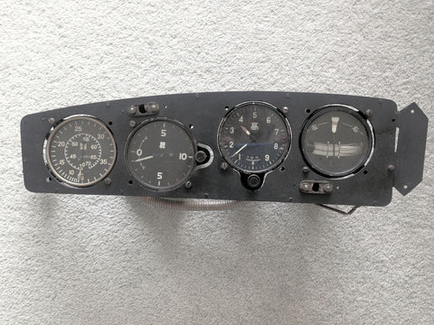 Mitsubishi Ki.21 #4510 Sally Bomber Instrument Panel