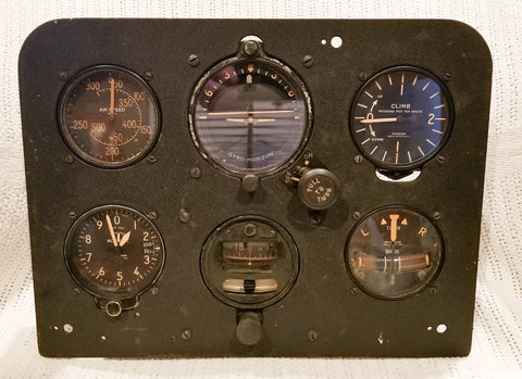 Bristol Bolingbroke Blind Flying Panel RCAF