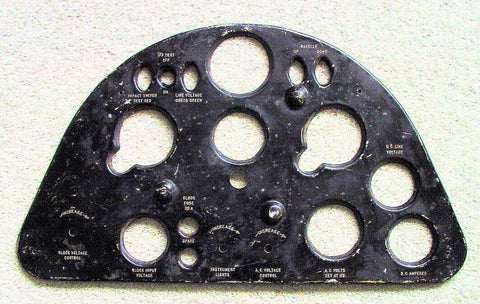 Instrument Panel, Unknown Aircraft, Guadalcanal