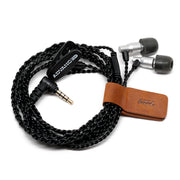 ADVANCED Genuine Leather Earphone Cable Tie