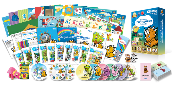 Portuguese for kids Premium Set