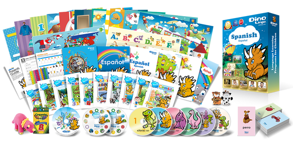 Spanish for kids Premium Set