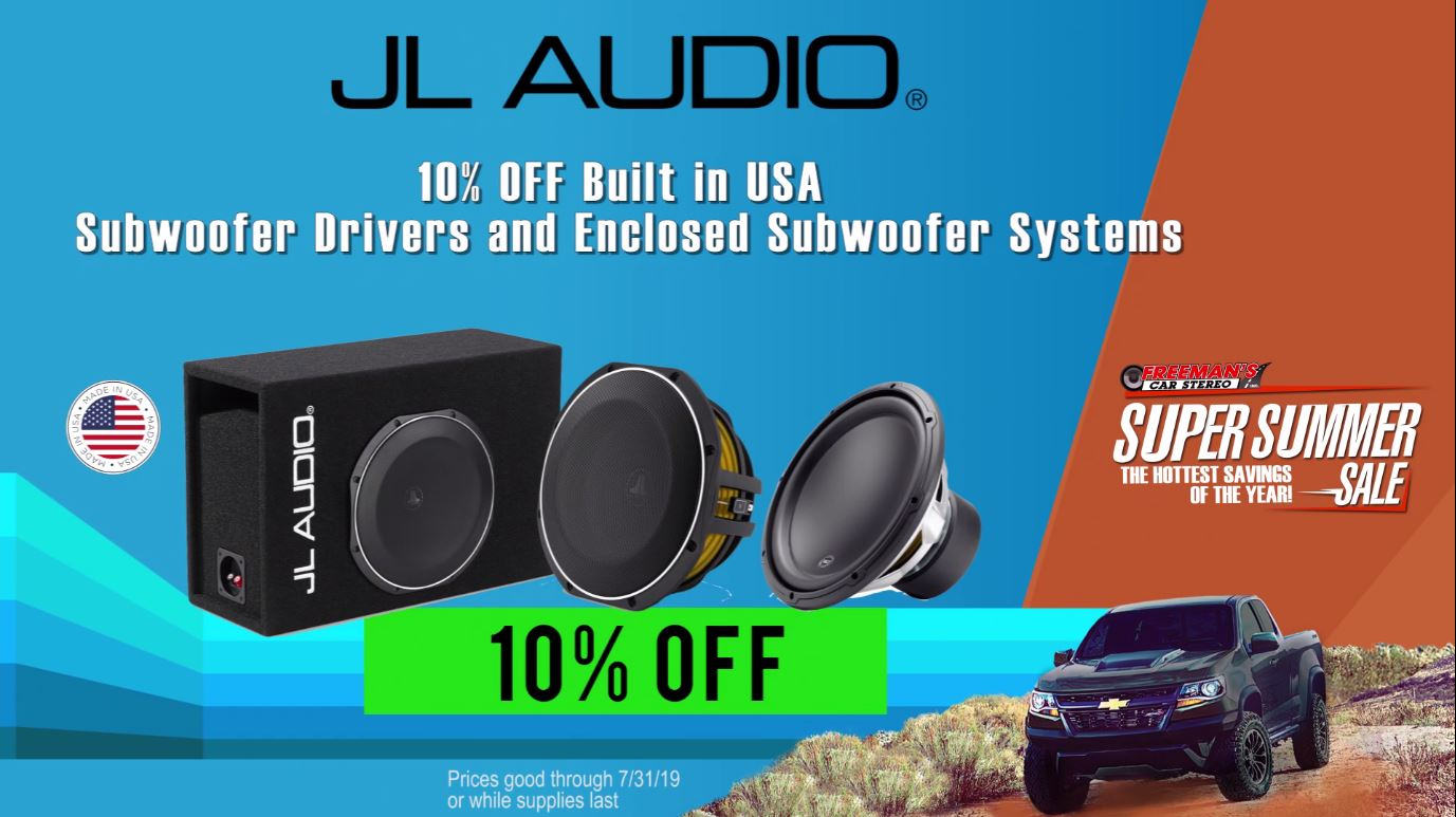 JL Audio Made In The USA