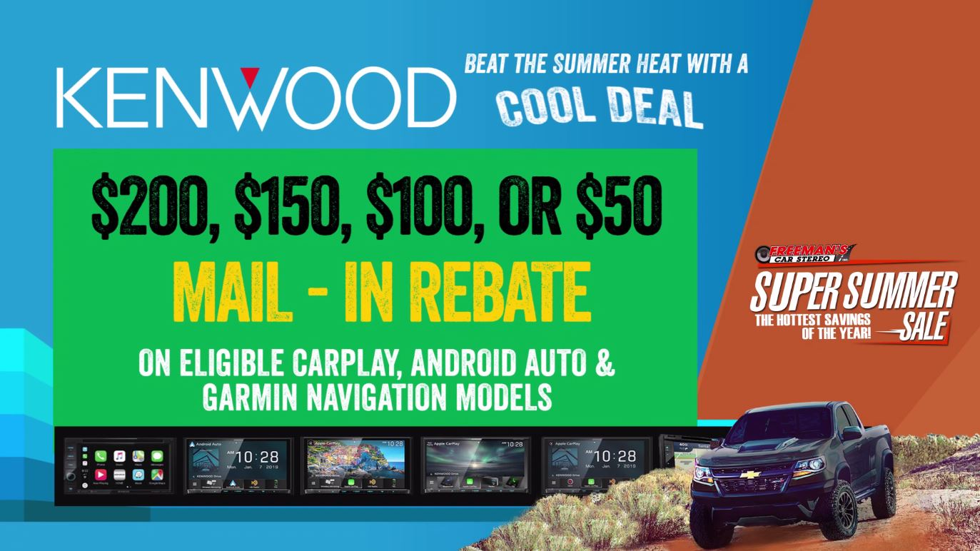 Kenwood Rebate