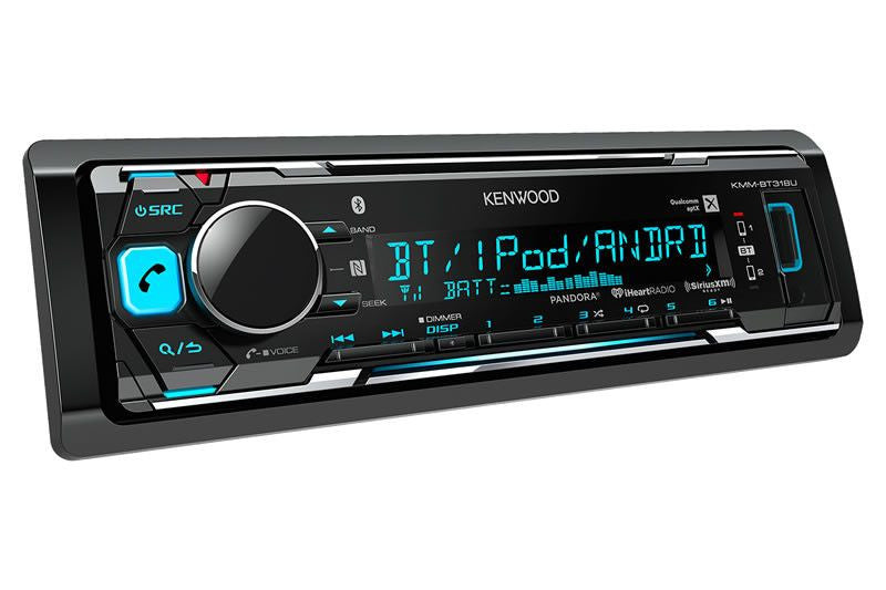 Kenwood KMM-BT318U - Multimedia Receiver - Freeman's Car Stereo