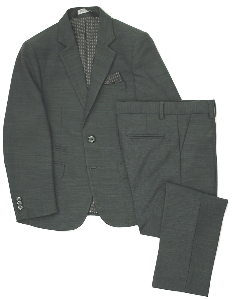Boy's Leo & Zachary Suit- Slim Fit- RSBLZ844DG