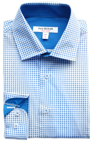 Junior Boy's Isaac Mizrahi Dress Shirt- KDS9268LI