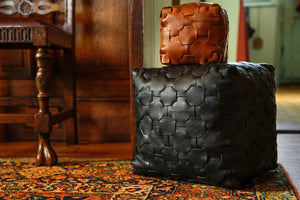 Elvis & Kresse Reclaimed Leather Cubes - Small and Large