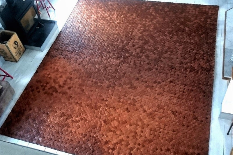 Leather Rug - Elvis & Kresse