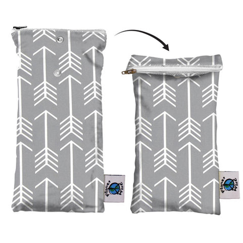 Planet Wise Reusable Wipe Pouch - Aim Twill