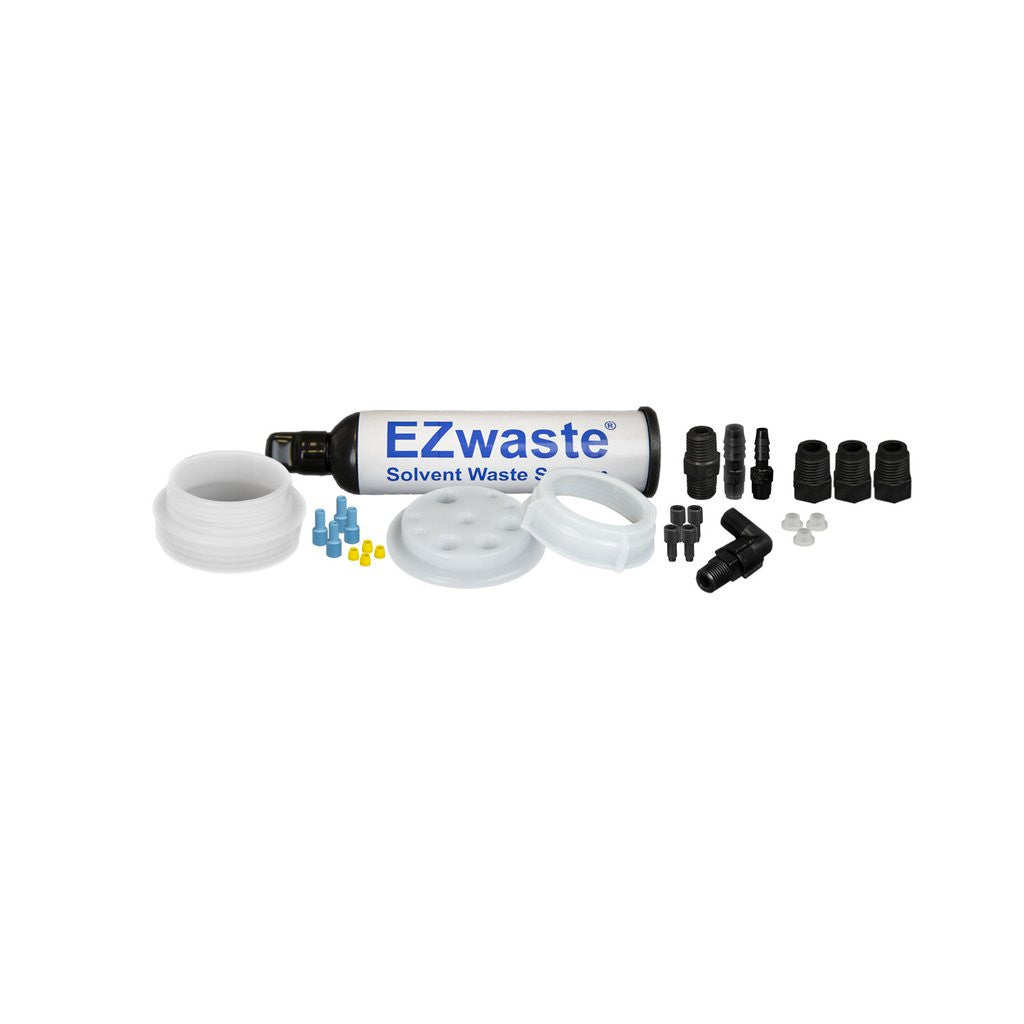 "EZwaste System, UN/DOT, S-70 Cap, 4x 1/8"", 3x 1/4"" OD Tubing, 1 HB, Threaded Adapter & Filter"