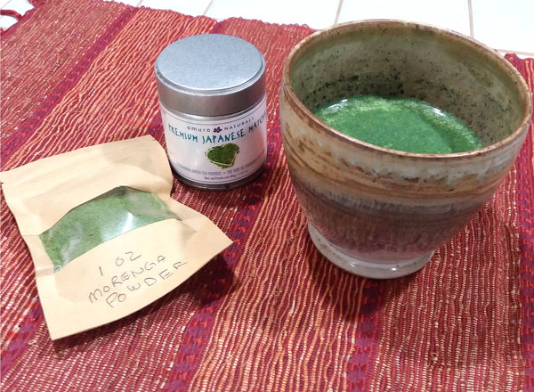 Matcha Moringa Super- Latte Recipe