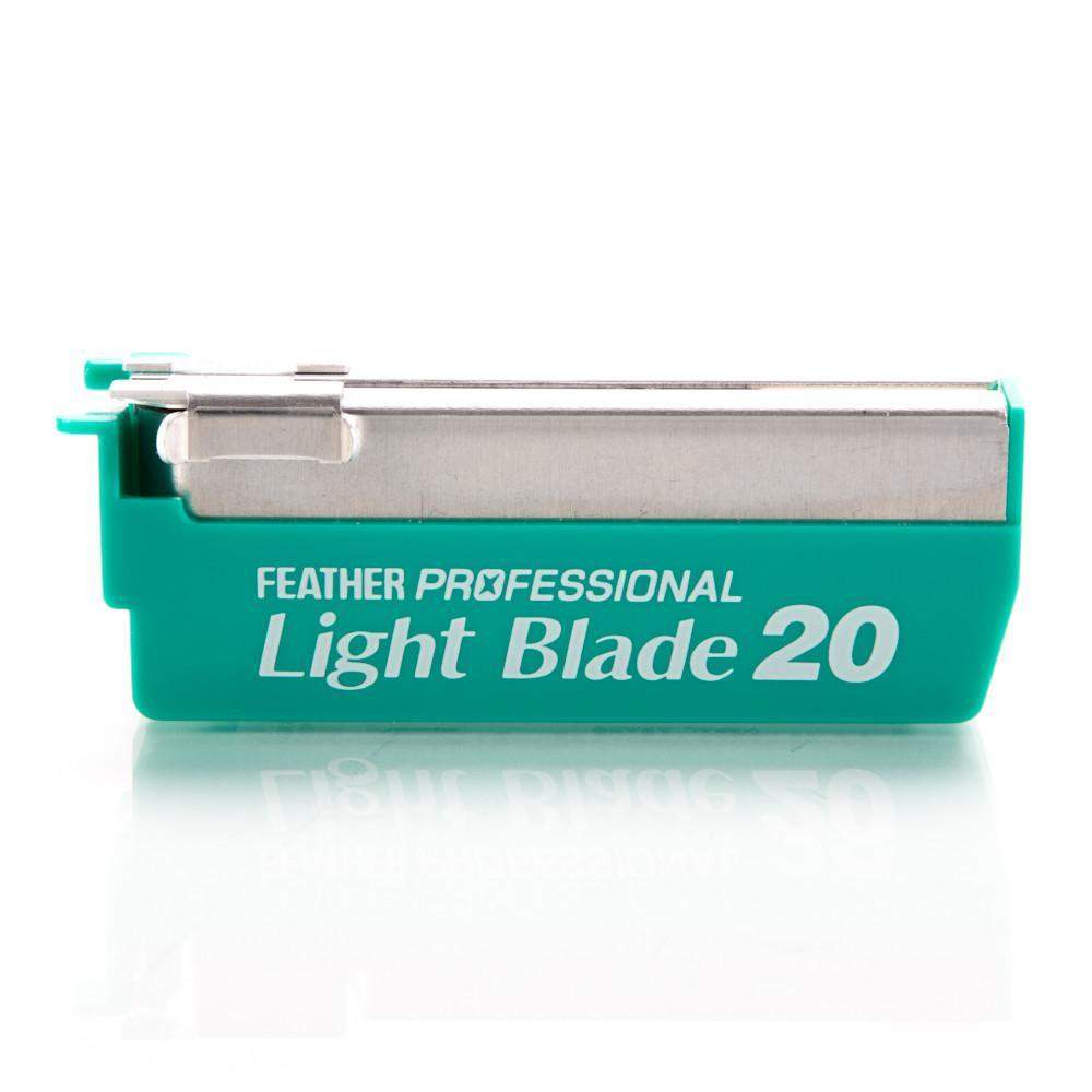 "Feather Razor ""Professional Light"" Blades 20 pack-"