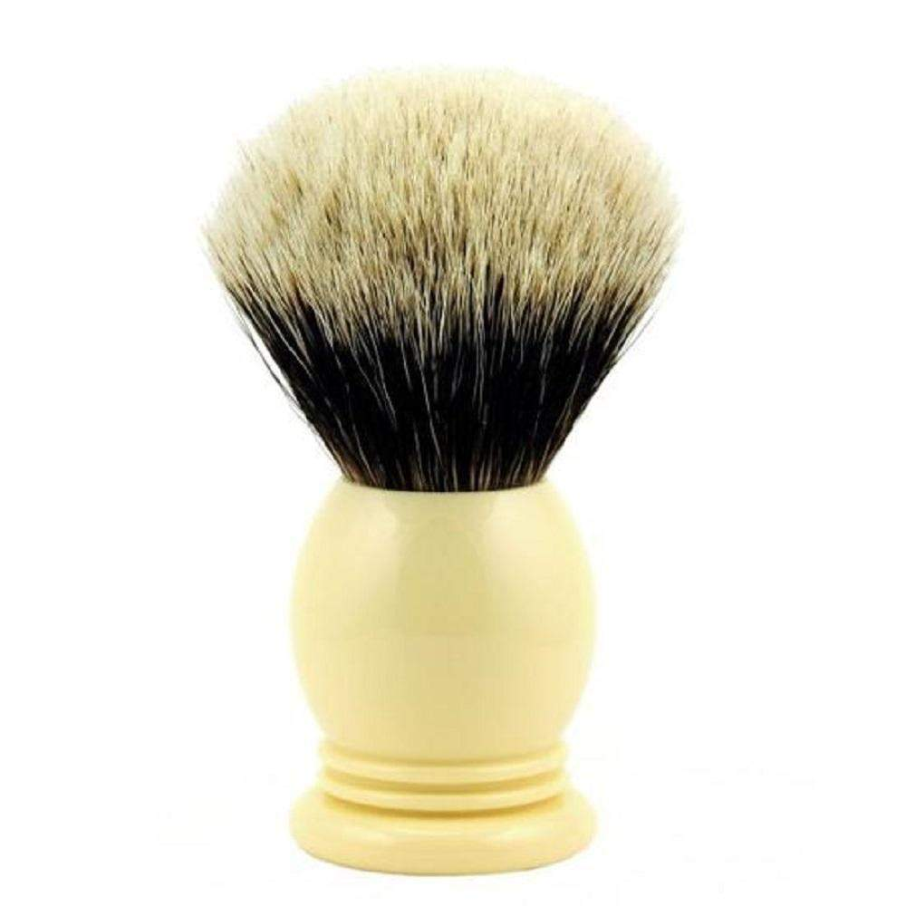 Vintage Blades Brand Finest Badger 24mm Shaving Brushes-Faux Ivory
