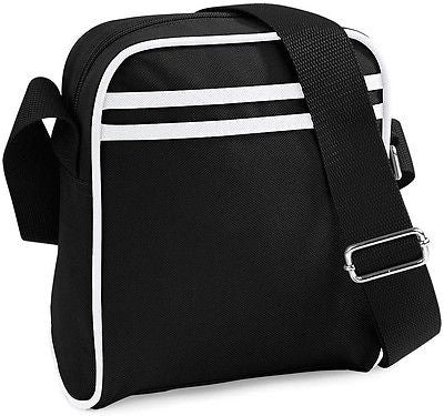 Unisex Mini Utility Messenger Shoulder Man Bag Manbag Mens Ladies Womens Black